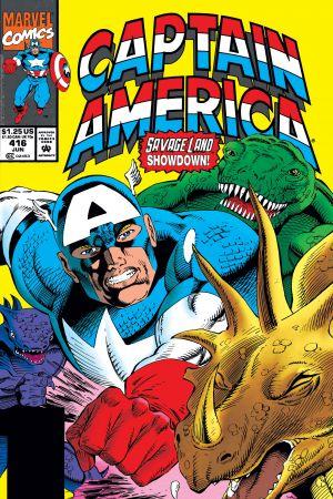 Captain America #416