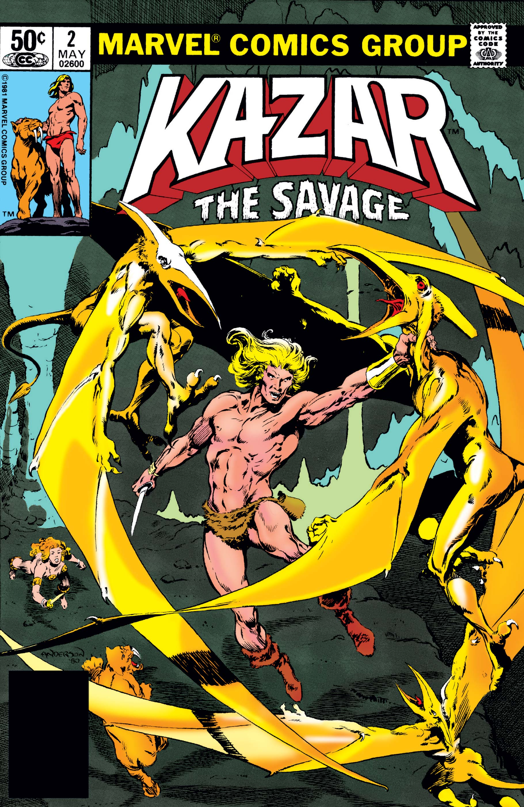 Ka-Zar the Savage (1981) #2