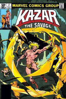 Ka-Zar the Savage #2