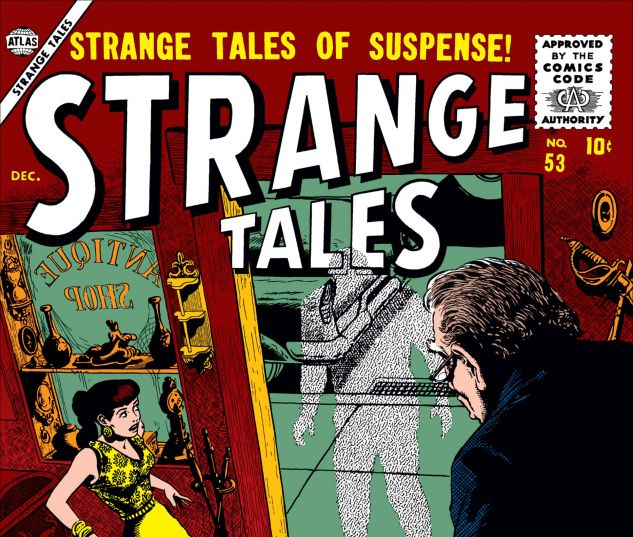 Cover for Strange Tales 53