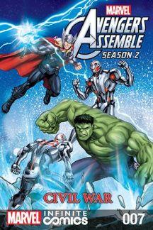Marvel Universe Avengers Assemble: Civil War (2017) #7