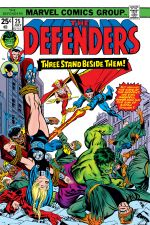 Defenders (1972) #25 cover
