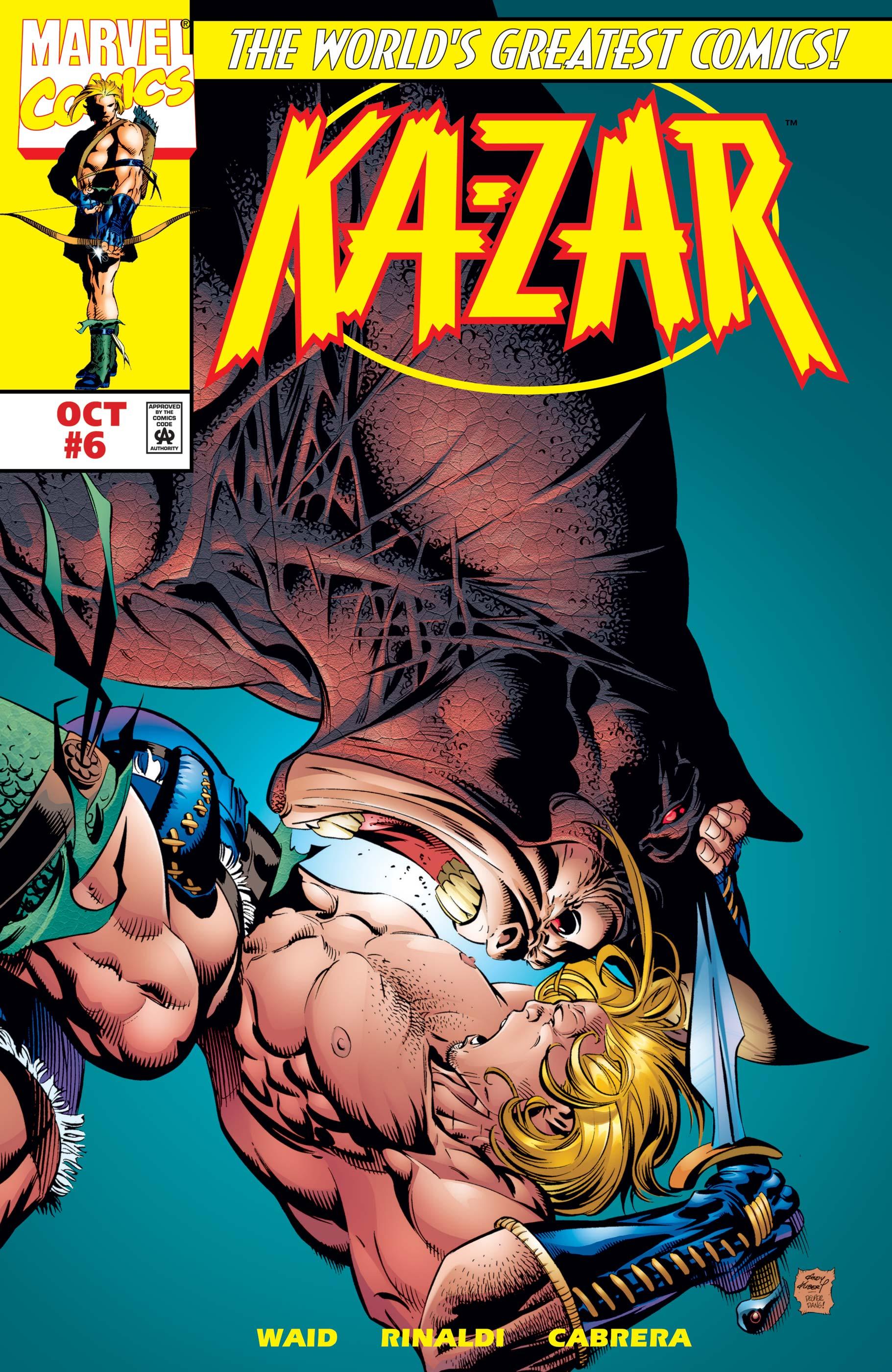 Ka-Zar (1997) #6