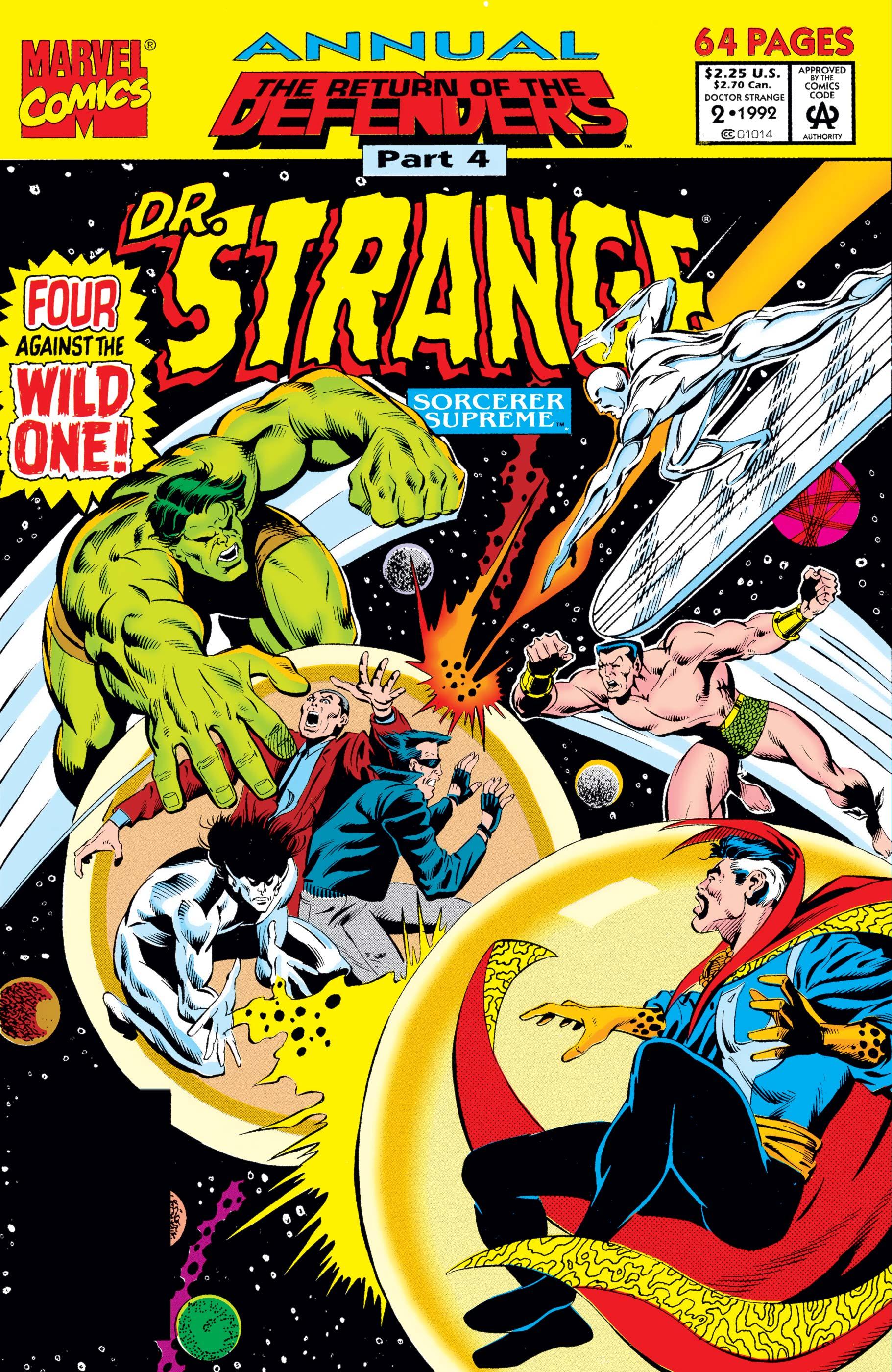 Doctor Strange Sorcerer Supreme Annual (1992) #2