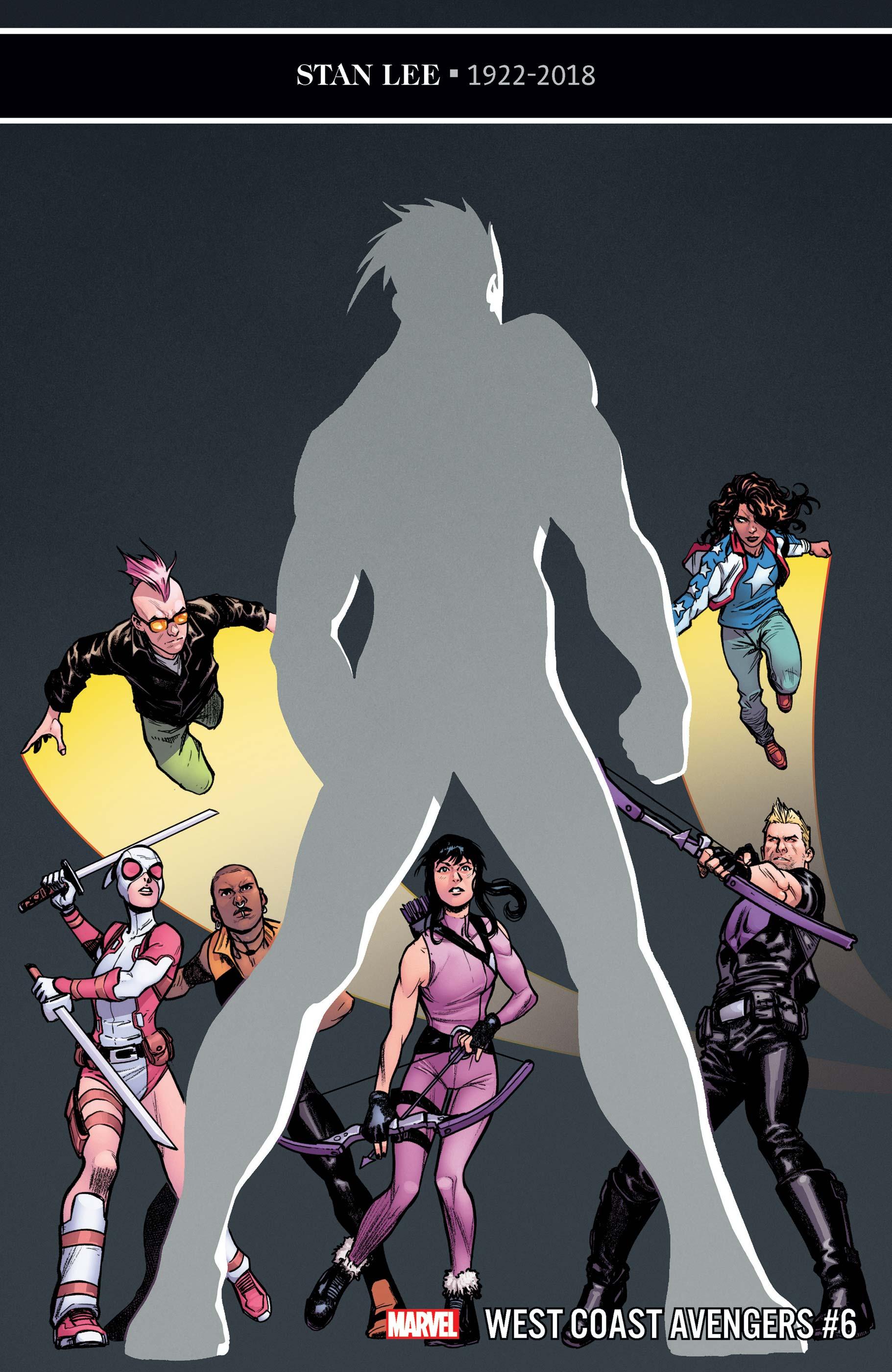 West Coast Avengers (2018) #6