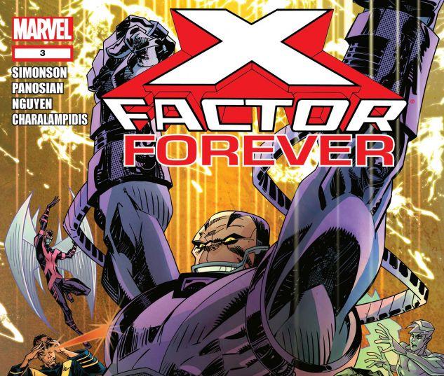 X-FACTOR FOREVER (2010) #3