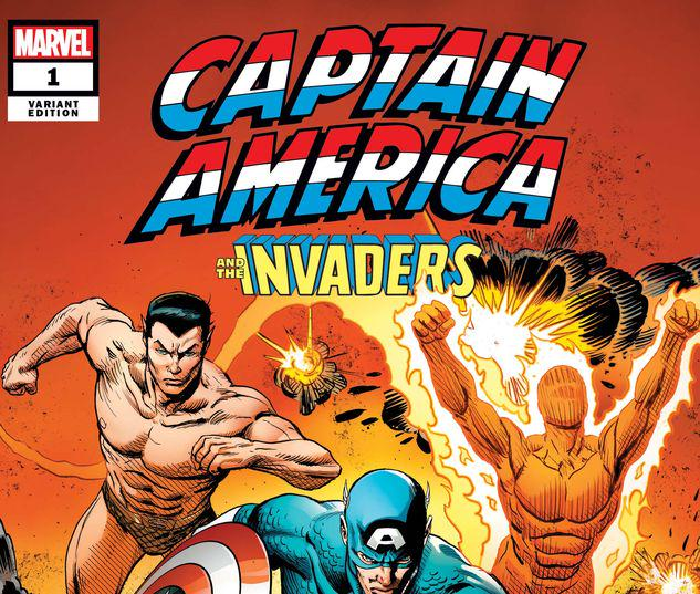 CAPTAIN AMERICA & THE INVADERS: BAHAMAS TRIANGLE 1 ZIRCHER VARIANT #1