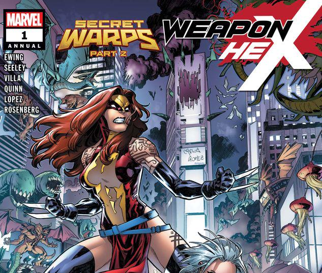 SECRET WARPS: WEAPON HEX ANNUAL 1 #1