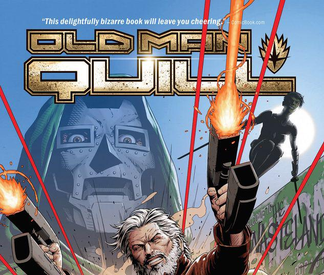 OLD MAN QUILL VOL. 1: NOBODY'S FAULT BUT MINE TPB #1