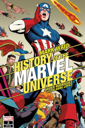 History of the Marvel Universe (2019) #2 (Variant)
