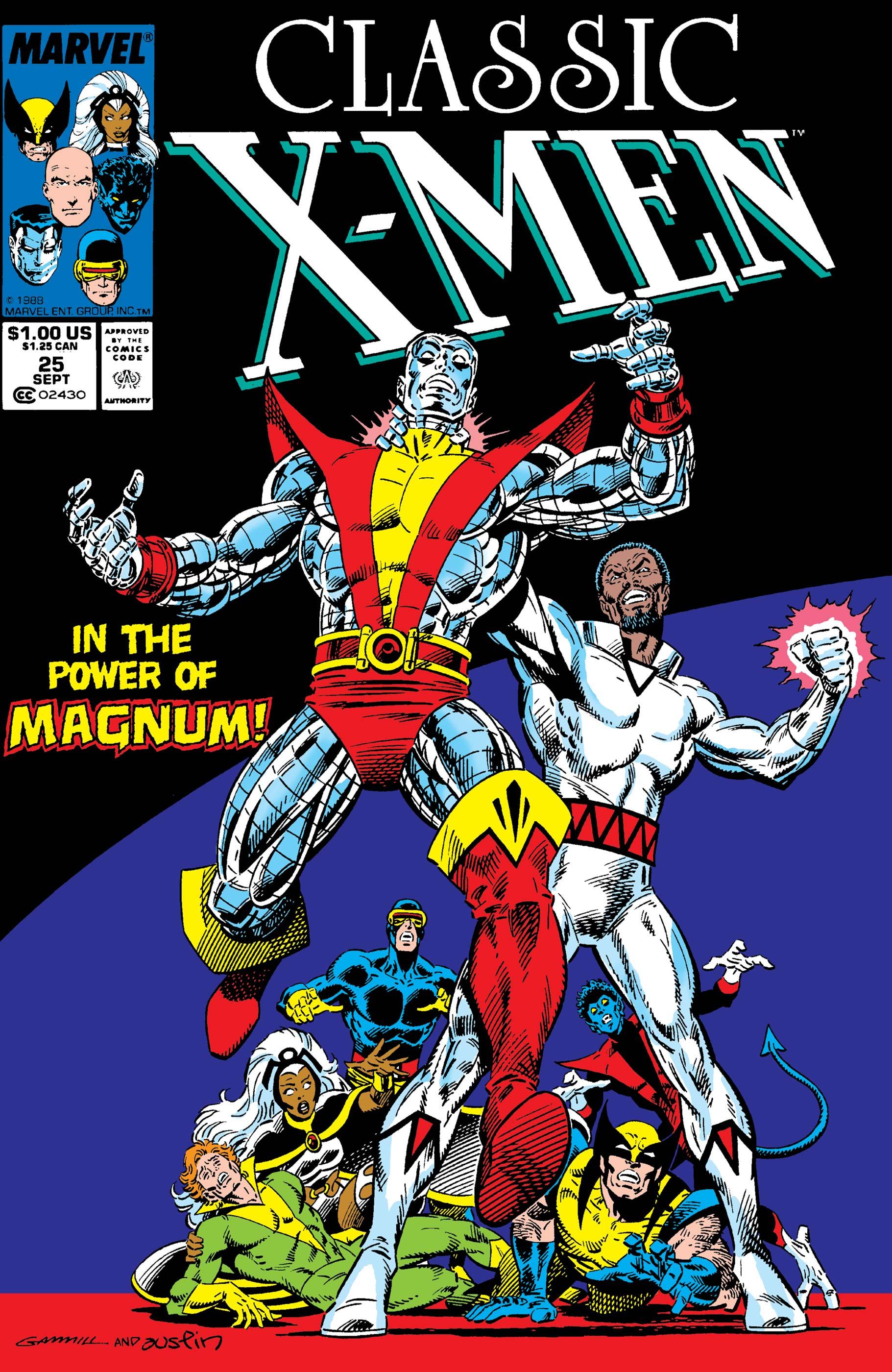 Classic X-Men (1986) #25