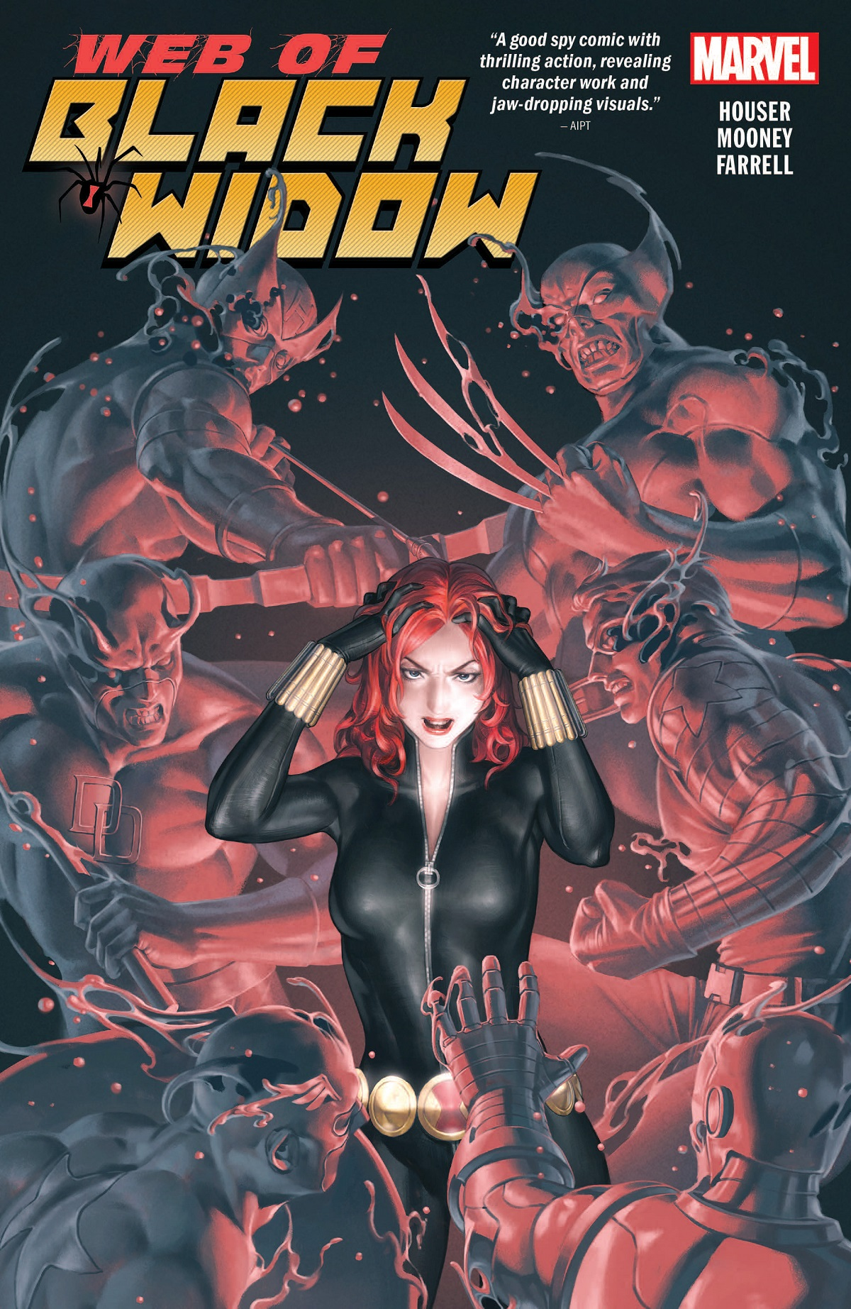 The Web of Black Widow (Trade Paperback)