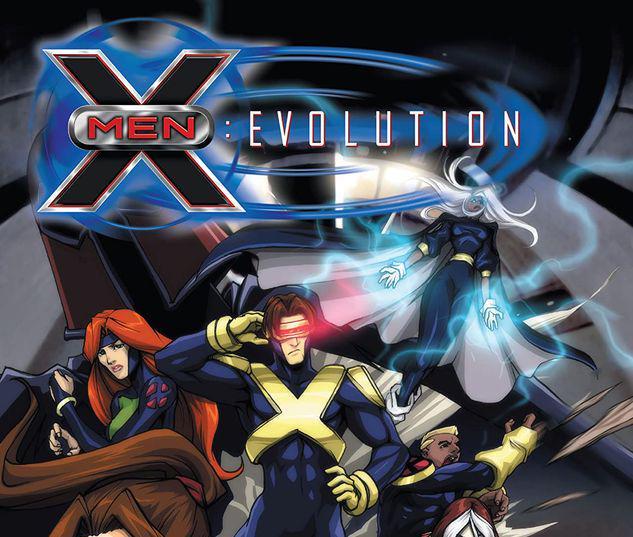 X-MEN: EVOLUTION GN-TPB #1
