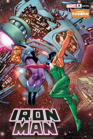 Iron Man (2020) #8 (Variant)