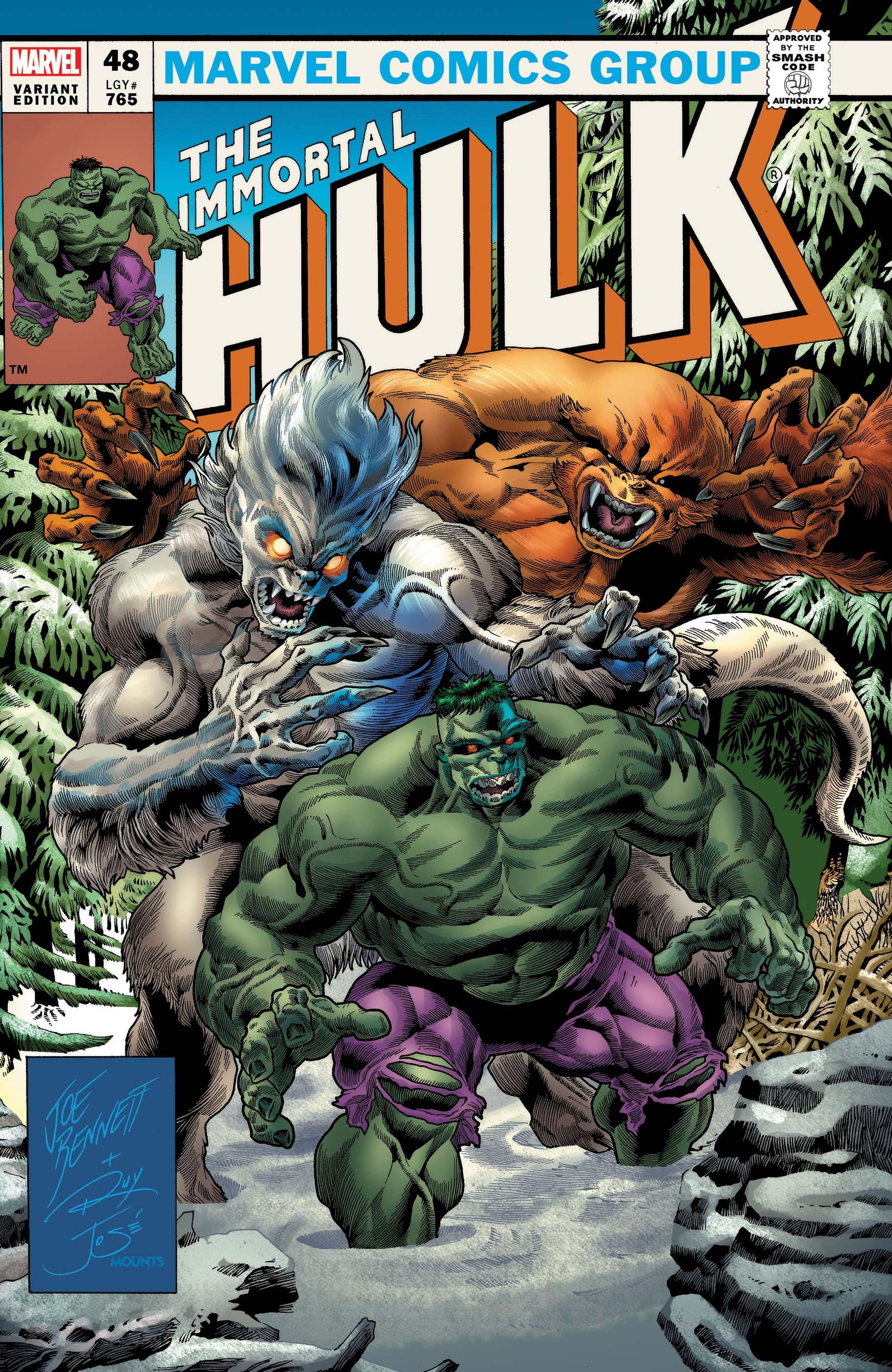 Immortal Hulk (2018) #48 (Variant)