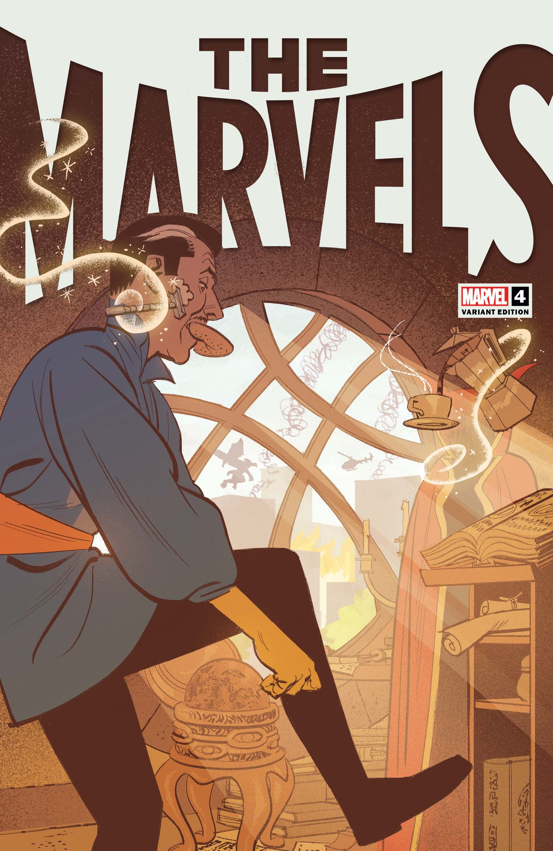 The Marvels (2021) #4 (Variant)