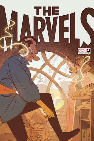 The Marvels #4  (Variant)