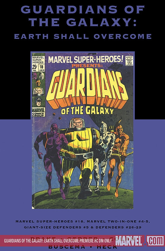 Guardians of the Galaxy: Earth Shall Overcome (Hardcover)