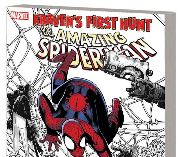 SPIDER-MAN: KRAVEN'S FIRST HUNT TPB #0