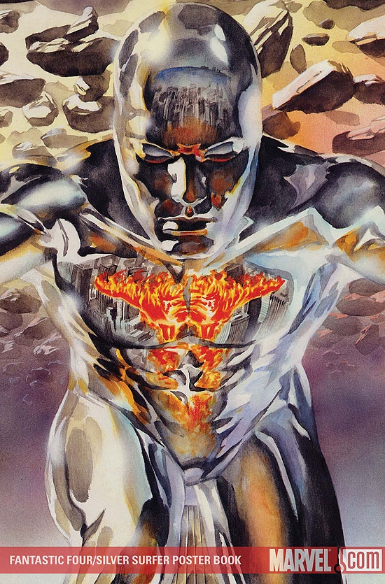 Fantastic Four/Silver Surfer Poster (2007)