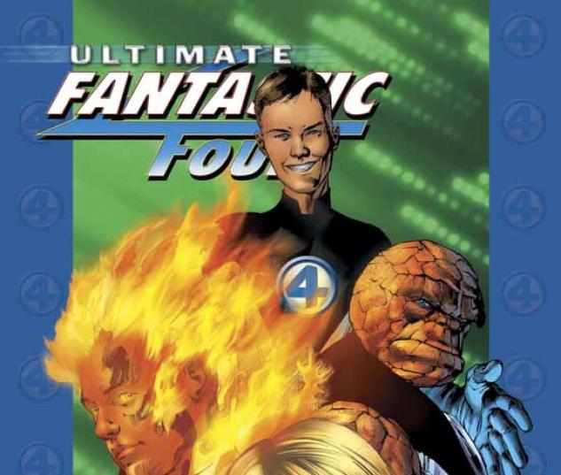 ULTIMATE FANTASTIC FOUR VOL. 1: THE FANTASTIC TPB COVER