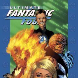 ULTIMATE FANTASTIC FOUR VOL. 1: THE FANTASTIC TPB COVER