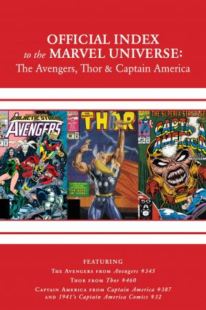 Avengers, Thor & Captain America: Official Index to the Marvel Universe #10