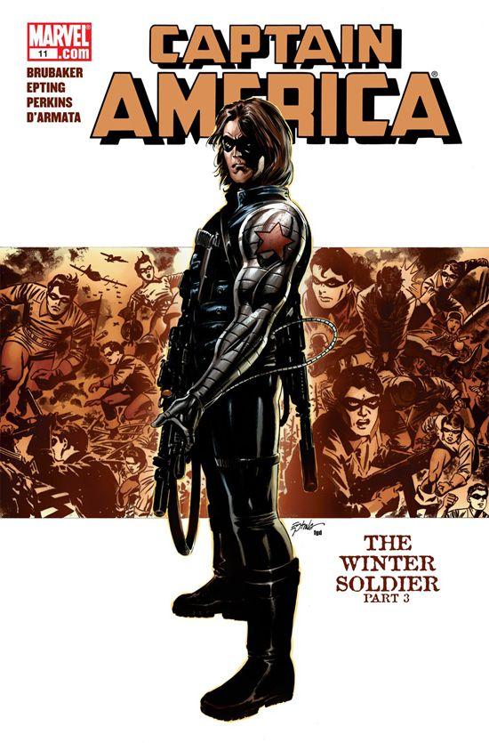Captain America (2004) #11
