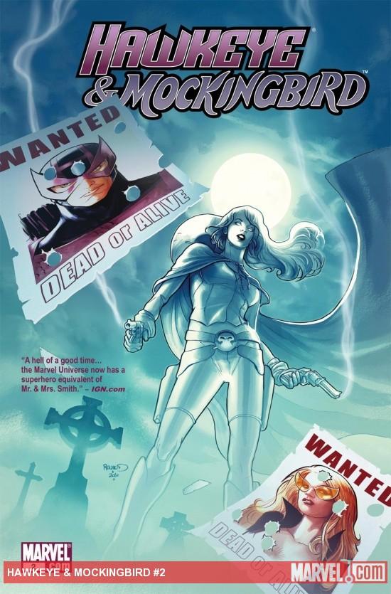 Hawkeye & Mockingbird (2010) #2