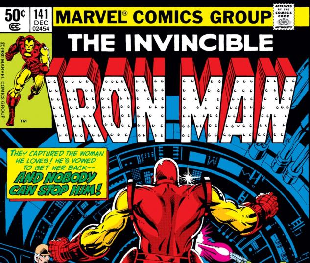 Iron Man (1968) #141 Cover