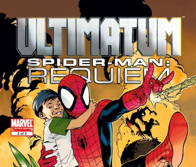 Ultimatum: Spider-Man Requiem (2009) #2 Cover