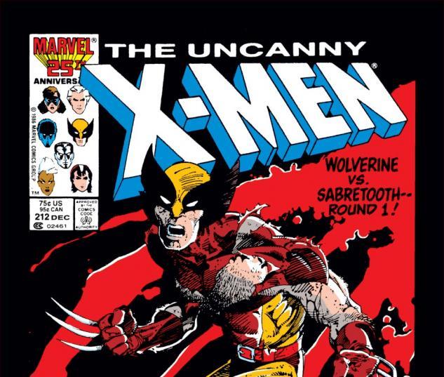 Uncanny X-Men (1963) #212 Cover