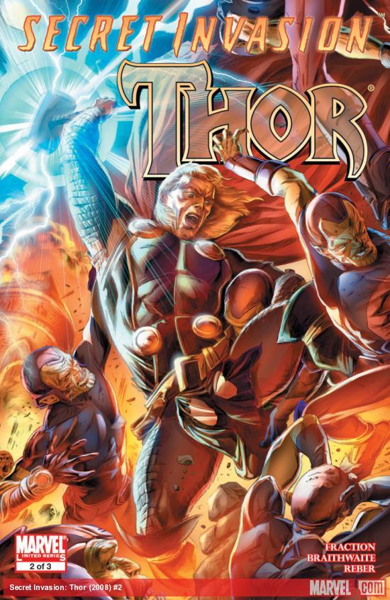 Secret Invasion: Thor (2008) #2