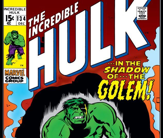 Incredible Hulk (1962) #134 Cover