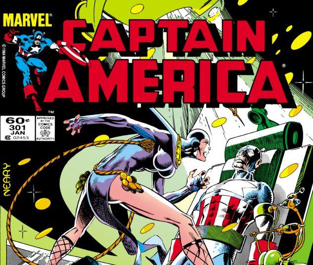 Captain America (1968) #301 Cover