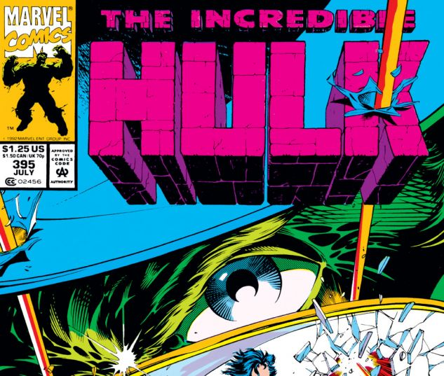 Incredible Hulk (1962) #395 Cover
