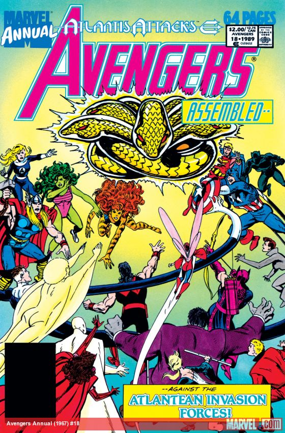 Avengers Annual (1967) #18