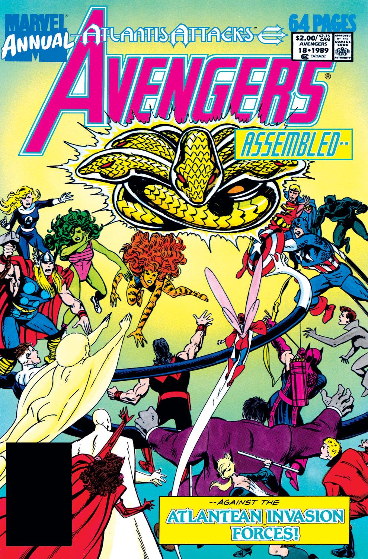 Avengers Annual (1967) #18