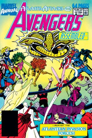 Avengers Annual #18