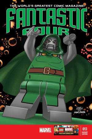 Fantastic Four #13  (Castellani Lego Variant)