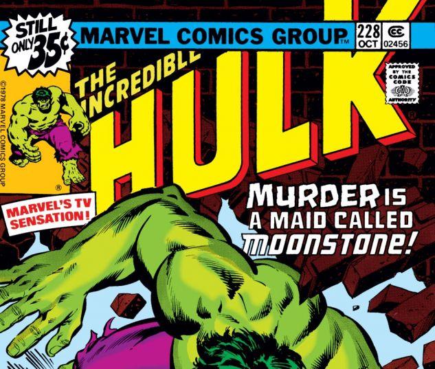 Incredible Hulk (1962) #228 Cover