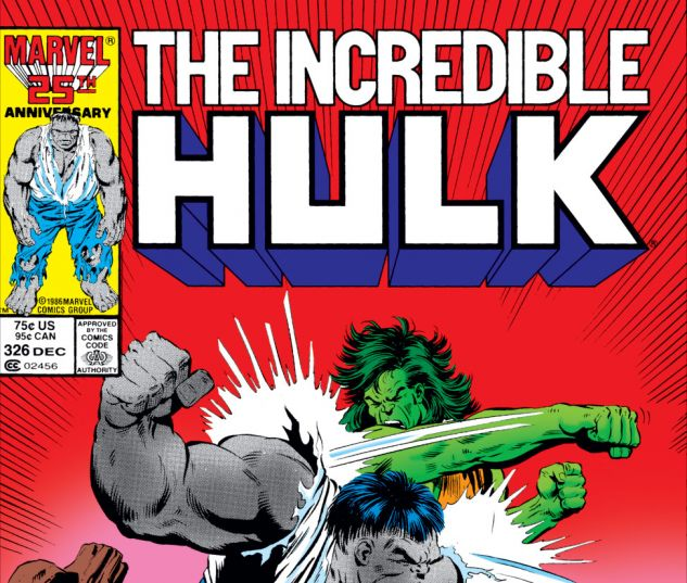 Incredible Hulk (1962) #326 Cover