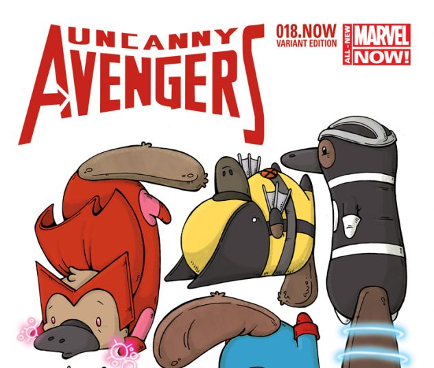 UNCANNY AVENGERS 18.NOW COOK ANIMAL VARIANT (ANMN, WITH DIGITAL CODE)