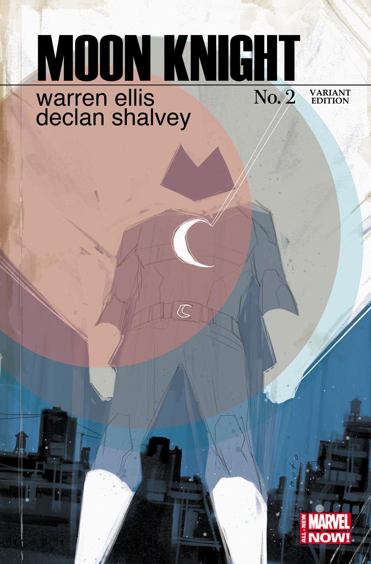 Moon Knight (2014) #2 (Noto Variant)