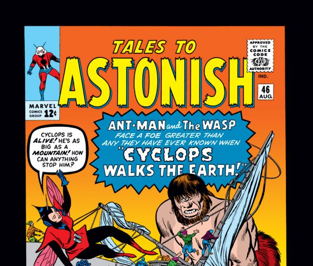 Tales to Astonish (1959) #46 Cover