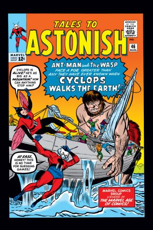 Tales to Astonish #46