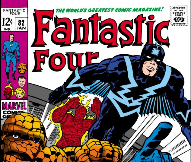 Fantastic Four (1961) #82 Cover