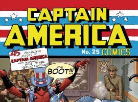Captain America (2012) #25 variant cover by John Tyler Christopher