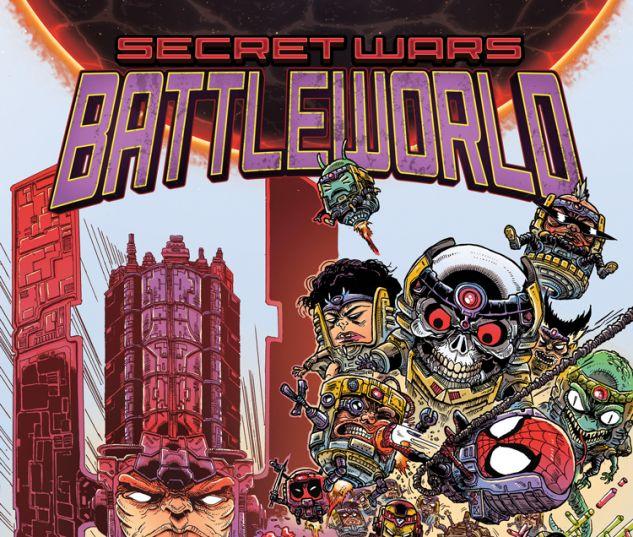 SECRET WARS: BATTLEWORLD 1 STOKOE VARIANT (SW, WITH DIGITAL CODE)