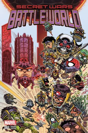 Secret Wars: Battleworld (2015) #1 (Stokoe Variant)